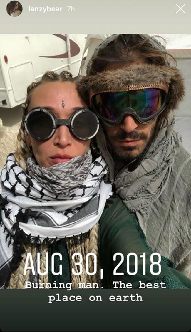 מתלבשים ככה ביום יום? אלעד עידן ואלאנה חדיד (צילום: אינסטגרם)