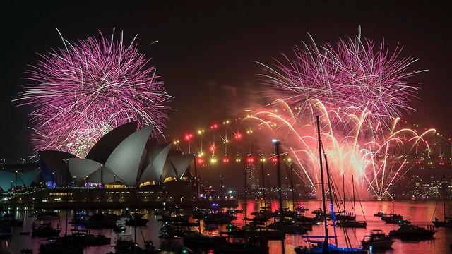 New Year's celebrations in Sydney on December 31, 2018 (Photo: EPA)