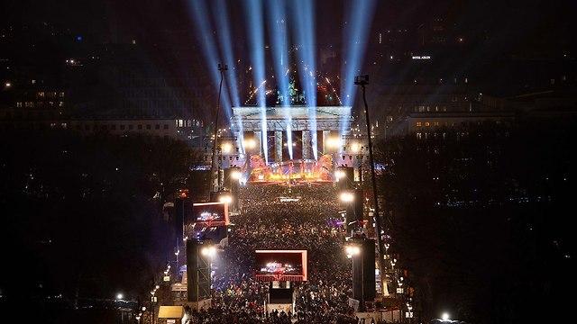 Berlin celebrates New Year's Eve, December 31, 2018 (Photo: AFP)