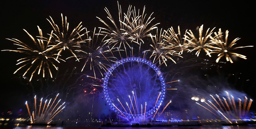 London welcomes the new year, December 31, 2018 (Photo: Getty Images)