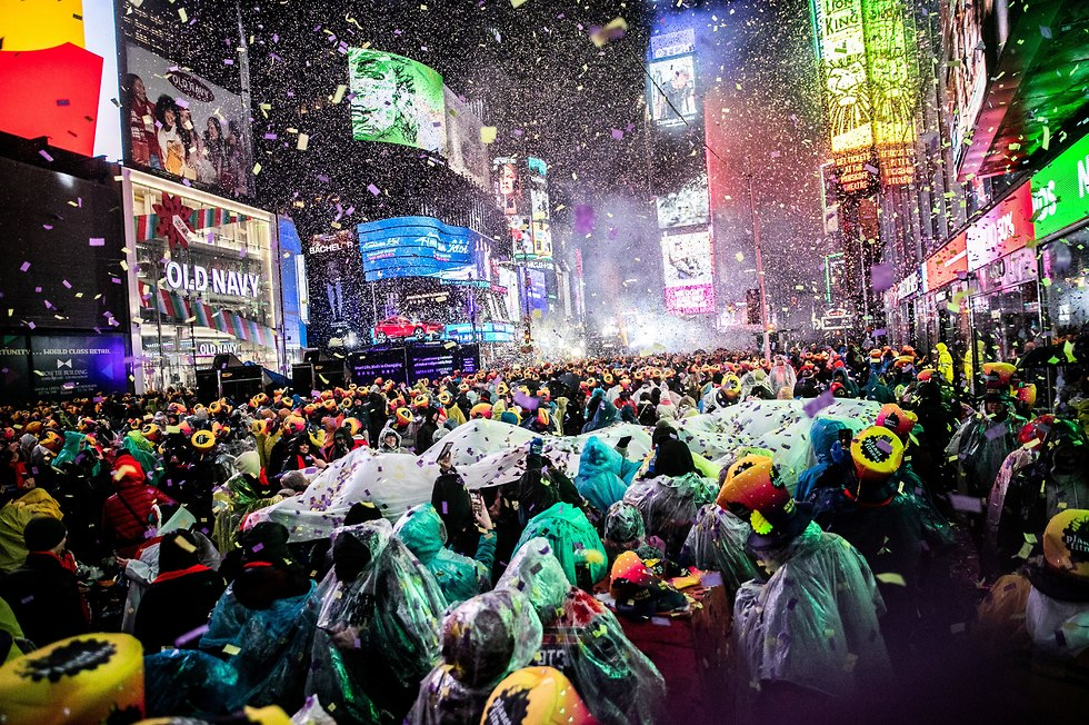 New Year's celebrations in NY, December 31, 2018 (Photo: Reuters)