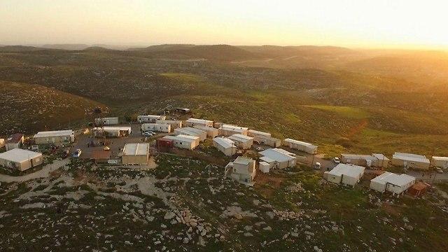 The Asael outpost near Hebron (Photo: Courtesy of Asa'el)
