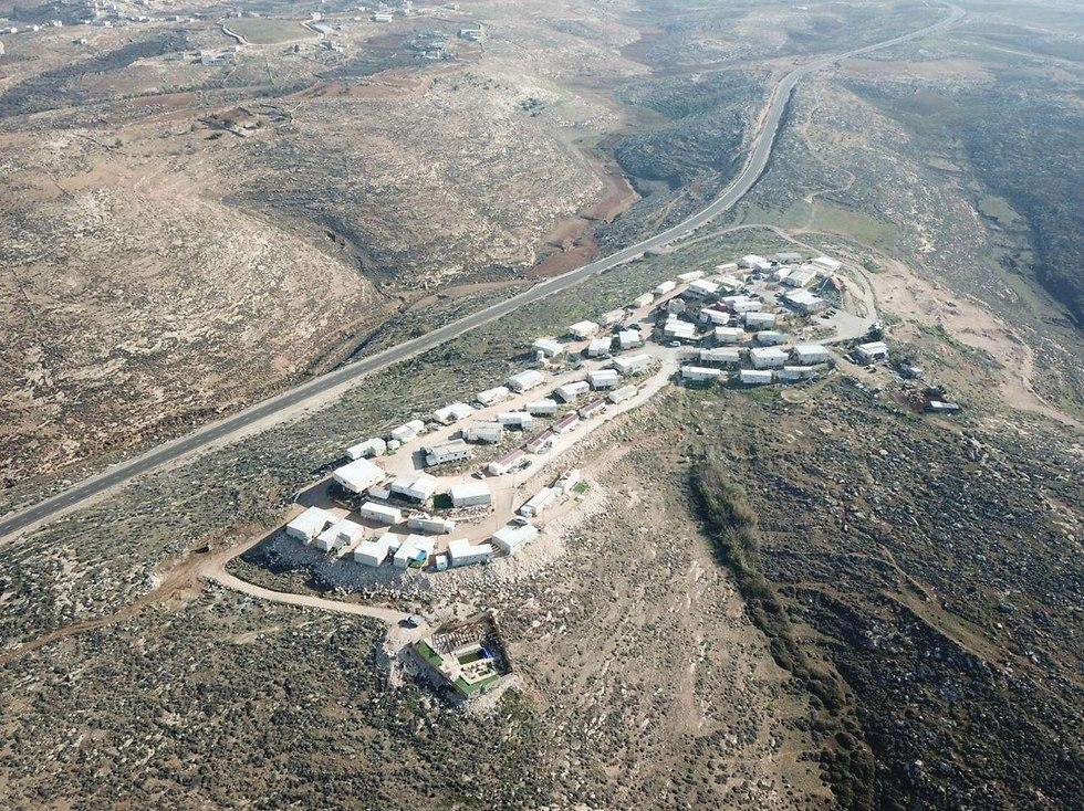 Asa'el settlement on Mt. Hebron (Photo: Courtesy of Asa'el)