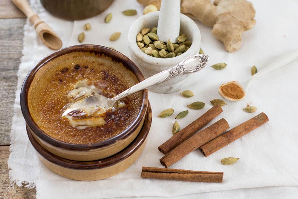 קרם ברולה בטעם צ'אי (צילום: דור משה)