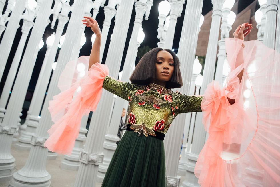 קיקי ליין. הפכה מיד לחביבת המעצב אלסנדרו מיקלה מגוצ'י (צילום: Emma McIntyre/GettyimagesIL)