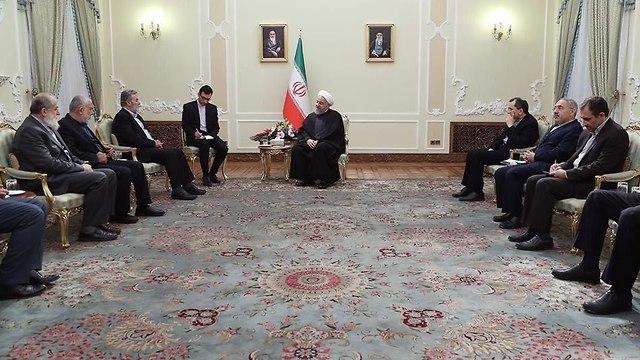 Ziad Nakhala meets with Khamenei