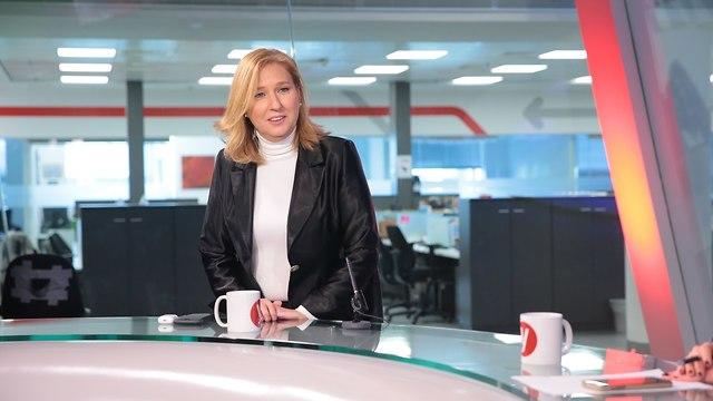 Hatnua leader Tzipi Livni at the Ynet studio (Photo: Yaron Brener)