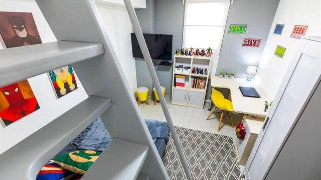 עיצוב חדרי ילדים (צילום: יאנה דודלר)