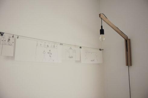 ''אני לא חושבת שצריך לתלות אמנות כקישוט, עדיף לתלות שרבוט של הילדים'' (צילום: באדיבות studio id253)
