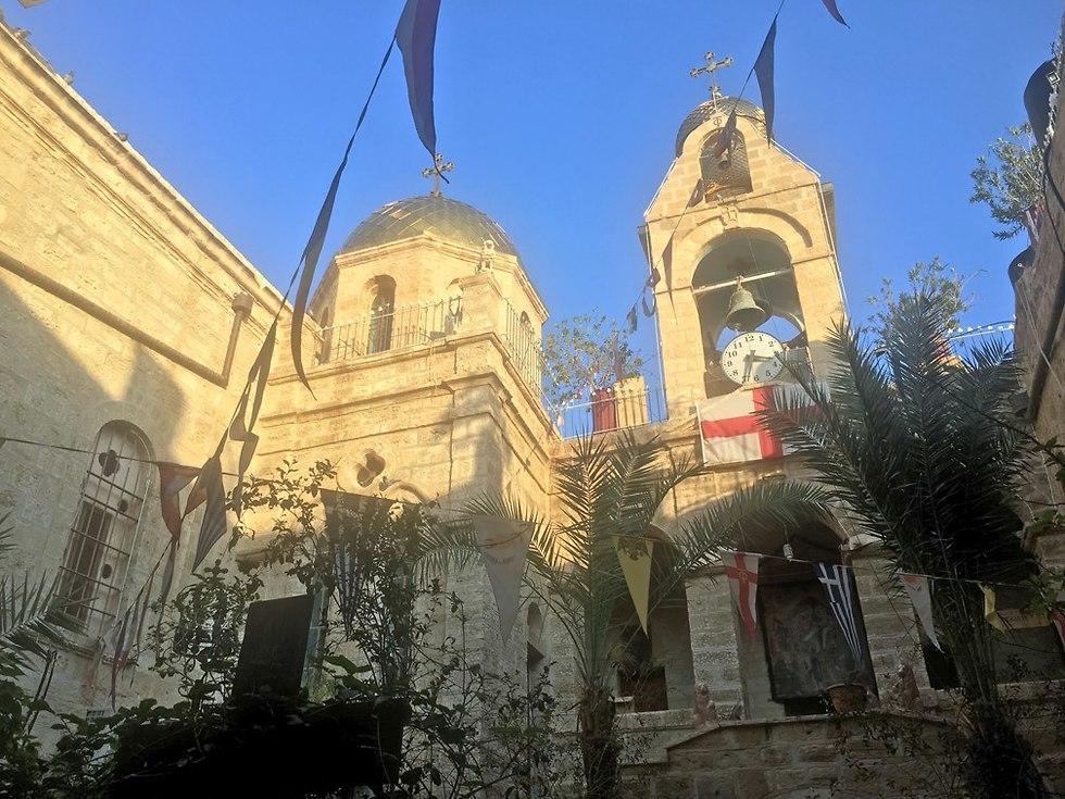 מנזר דיר חג'לה (צילום: גלעד כרמלי)