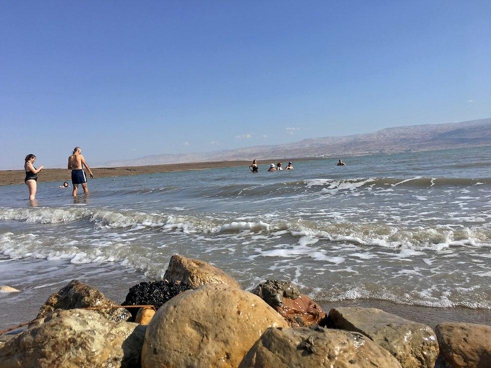 חוף כפר הנופש ביאנקיני (צילום: גלעד כרמלי)