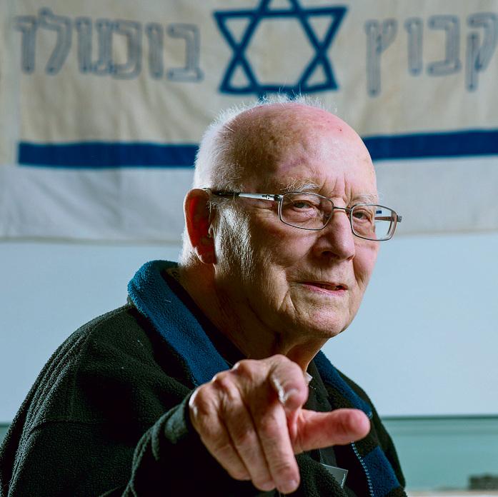 Holocaust survivor Dov Or-Ner