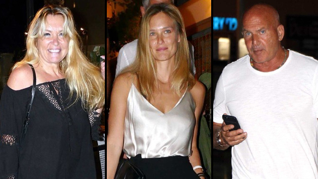 Bar Refaeli and her parents