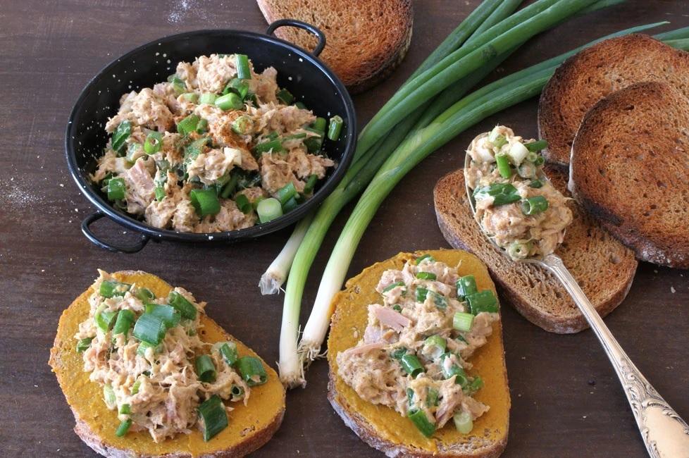 Салат с тунцом и горчицей. Фото: Оснат Лестер