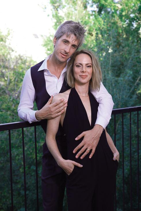 """ישי ודפנה. """"הוא מאוד התאכזב ממני, שאני לא יודעת להיות אמא"""" (צילום: אביגיל עוזי)"""