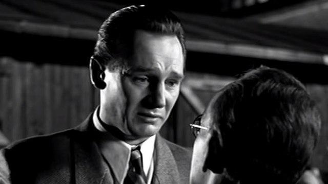 Liam Neeson as Oskar Schindler in Schindler's List