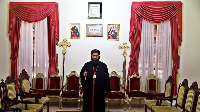 Archbishop Mar Swerios Malki Murad, Patriarchal Vicar of the Holy Land and Jordan for the Syrian Orthodox Church