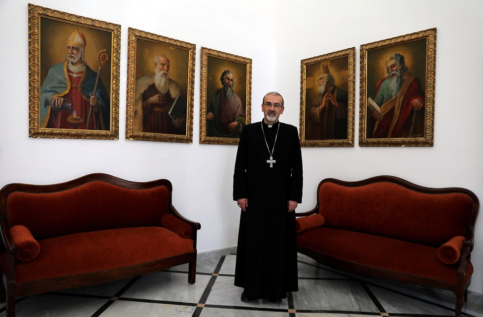 Archbishop Pierbattista Pizzaballa, Apostolic Administrator of the Latin Patriarchate of Jerusalem