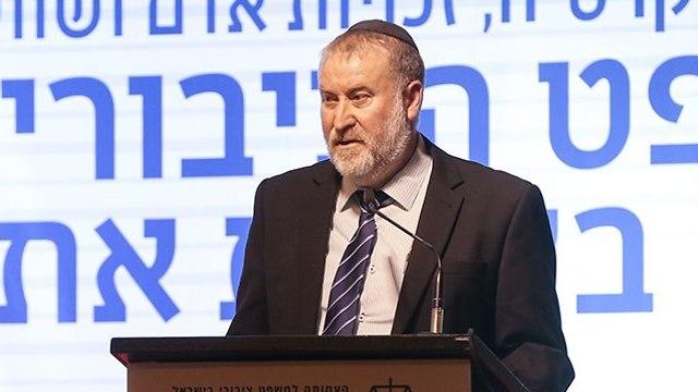 כנס משפט ציבורי במלון דן חיפה (צילום: אלעד גרשגורן)