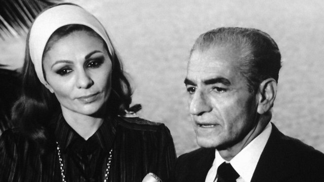 The exiled Shah of Iran, Reza Pahlavi and his wife, Farah Diba (Photo: AP)