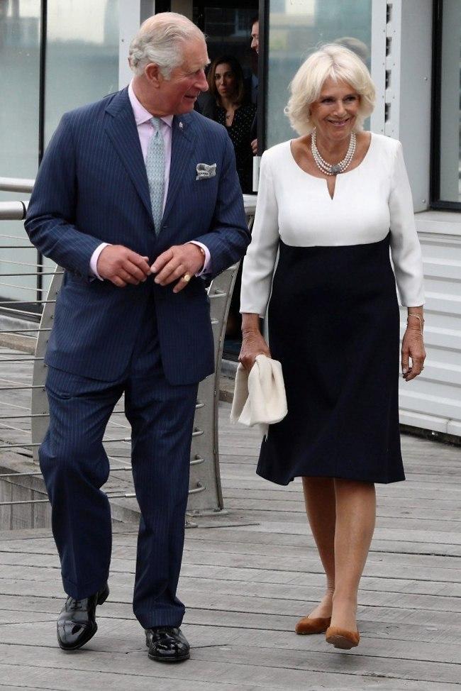 קבלו את המלך והמלכה. הנסיך צ'ארלס הדוכסית קמילה (צילום: Gettyimages)