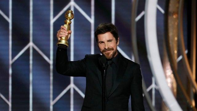 כריסטיאן בייל גלובוס הזהב  (צילום: AP)