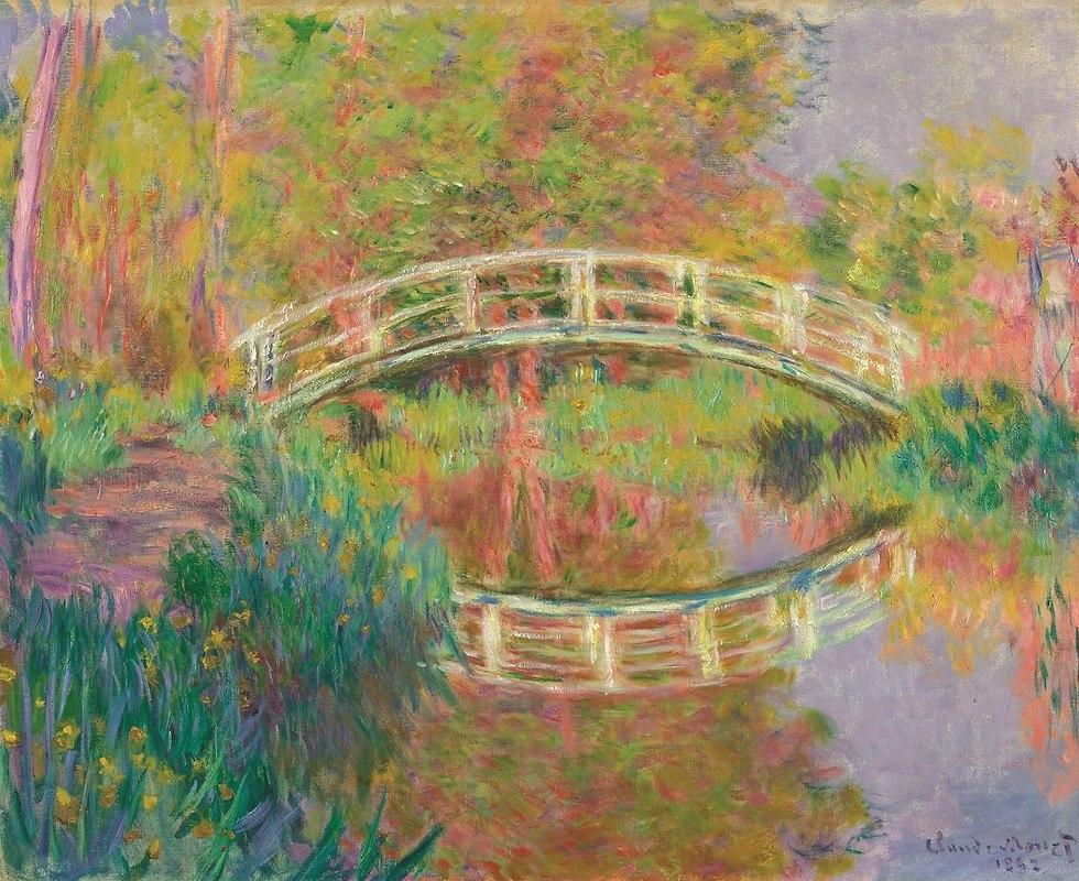 Claude Monet Japanese Footbridge, Giverny, 1895 (Photo: PR)