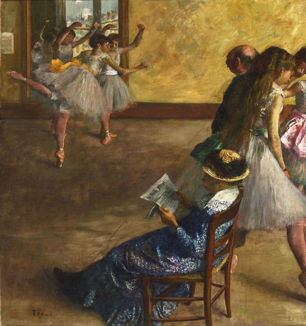 Edgar Degas, The Ballet Class, c. 1880