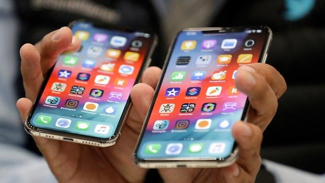 אייפון XS ואייפון XS Max (צילום: AP)