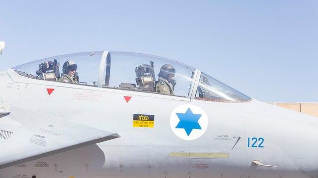 F-15 Falcon (Photo: IDF Spokesperson's Unit)
