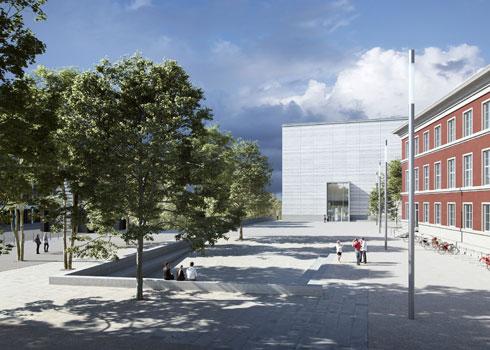 ולא רחוק משם, משלימים את הקמתו של מוזיאון באוהאוס בוויימאר, שמבקש לחשוף אוסף לא ידוע מראשית ימיו של בית הספר (צילום: Bloomimages GmbH)