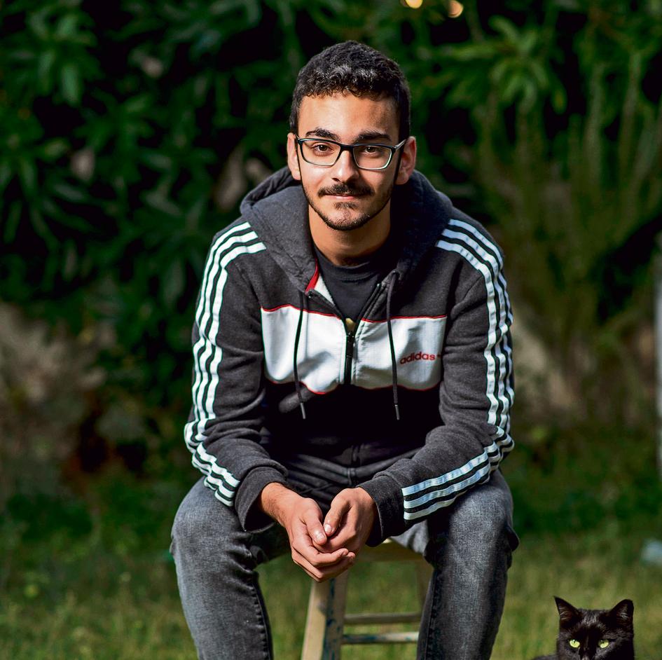 """""""לא היו לי חברים עד גיל 18 """". רותם מרדכי. צילום: יובל חן"""