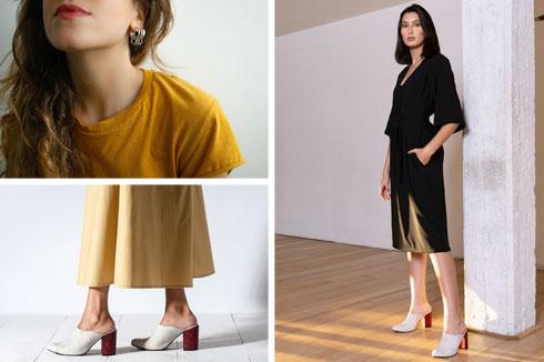 פופ-אפ אופנה לסוף השבוע. מותג הנעליים Eunoia Design, מותג הבגדים De Rai ומותג התכשיטים PAU נפגשים בחלל אחד (צילומים: פאולה אפלבאום, איליה מלניקוב לנה זלדץ)