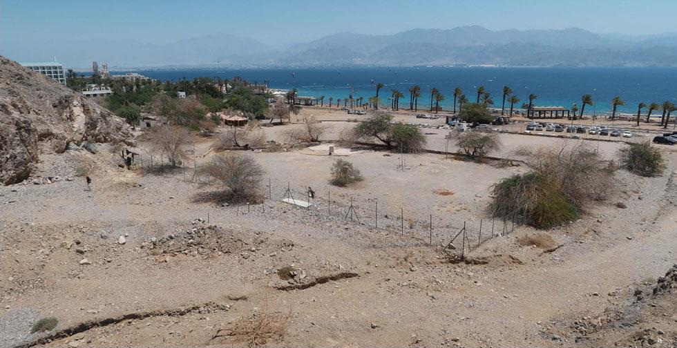 כך נראה היום אזור ''הקרולינות'' בחוף אילת (באדיבות מייזליץ כסיף אדריכלים)