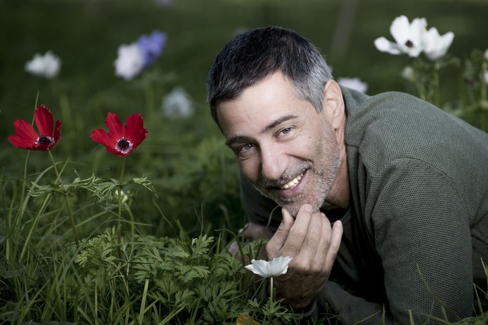 """שרון צור. """"מנחם גולן אמר עליי: 'זה הששי קשת הבא. הוא המאהב האולטימטיבי של הקולנוע הישראלי'"""" (צילום: יובל חן)"""