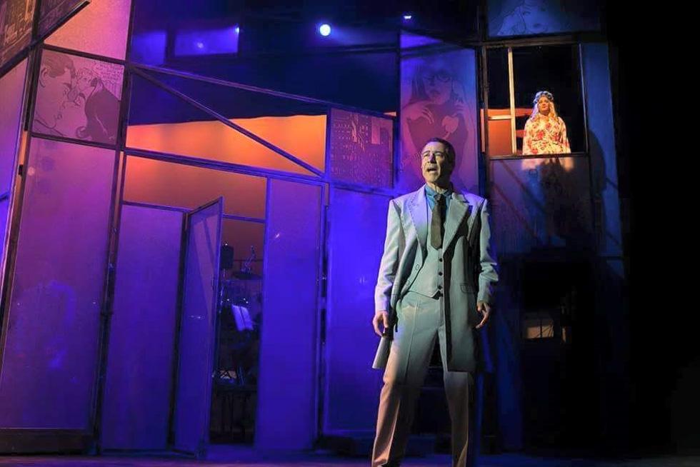 """במחזמר """"בילי שוורץ"""". """"אני מאוד מקווה לקבל תפקיד משמעותי באחד התיאטראות""""  (צילום: אלבום פרטי)"""