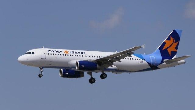מטוס ישראייר (צילום: דני שדה)