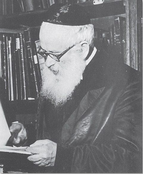 הרב יצחק אייזיק הלוי הרצוג