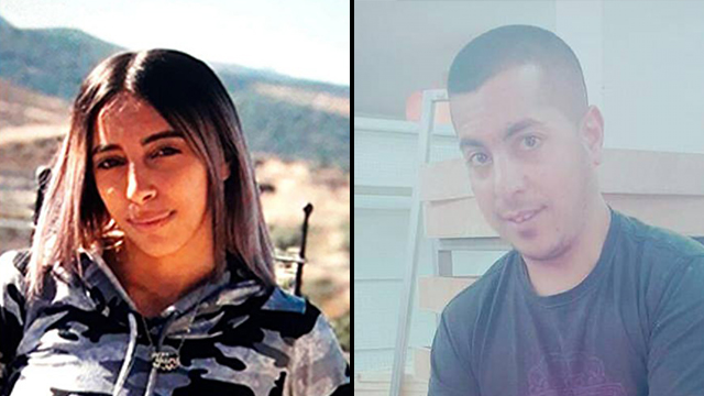 Yara Ayub, the murder victim, and Mohammed Abu Zainab incidted for her murder (Photo: Facebook)