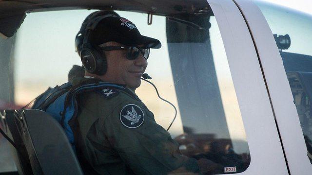 ביקור בחיל האוויר (צילום: דובר צה