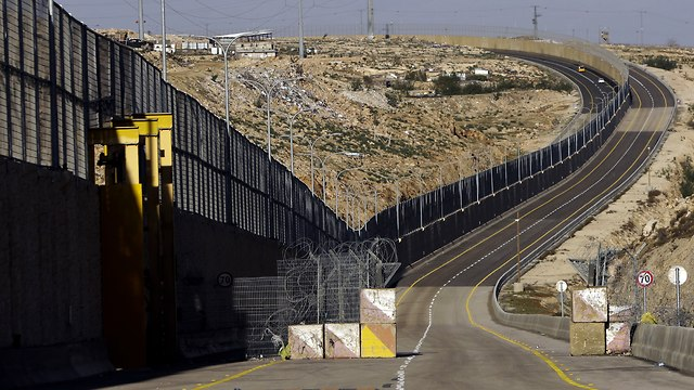 Route 4370 near Jerusalem (Photo: AP)