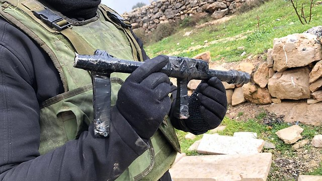 Конфискованное у боевиков оружие. Фото: пресс-служба ЦАХАЛа