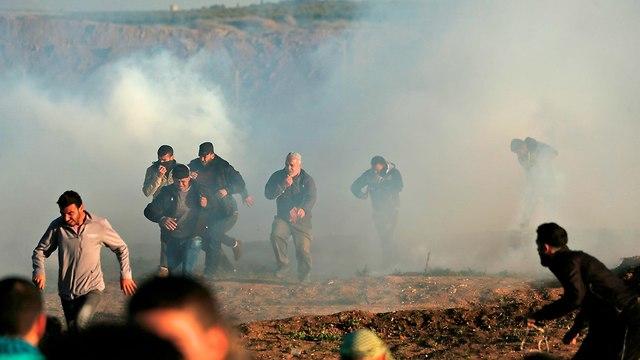 Беспорядки на границе с Газой. Фото: AFP