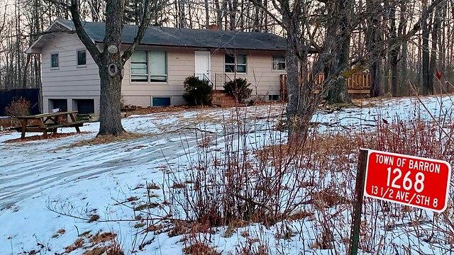 הבית שממנו נחטפה ג'יימי קלוס על ידי ג'ייק פטרסון בארון (צילום: AP)