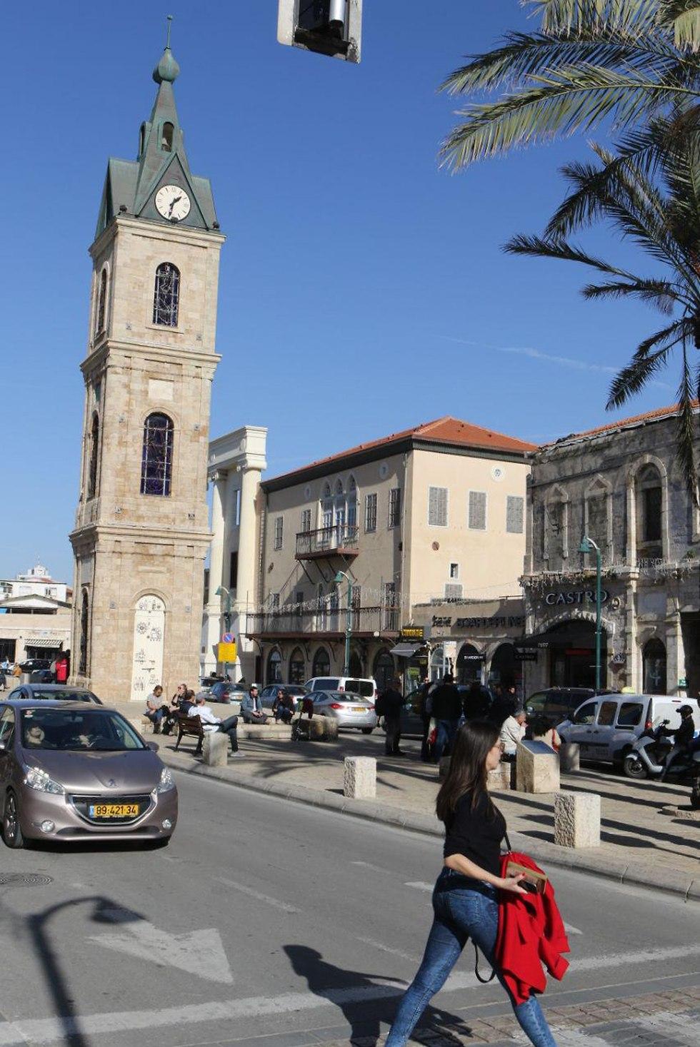 מגדל השעון ביפו בתל אביב (צילום: אבי מועלם)
