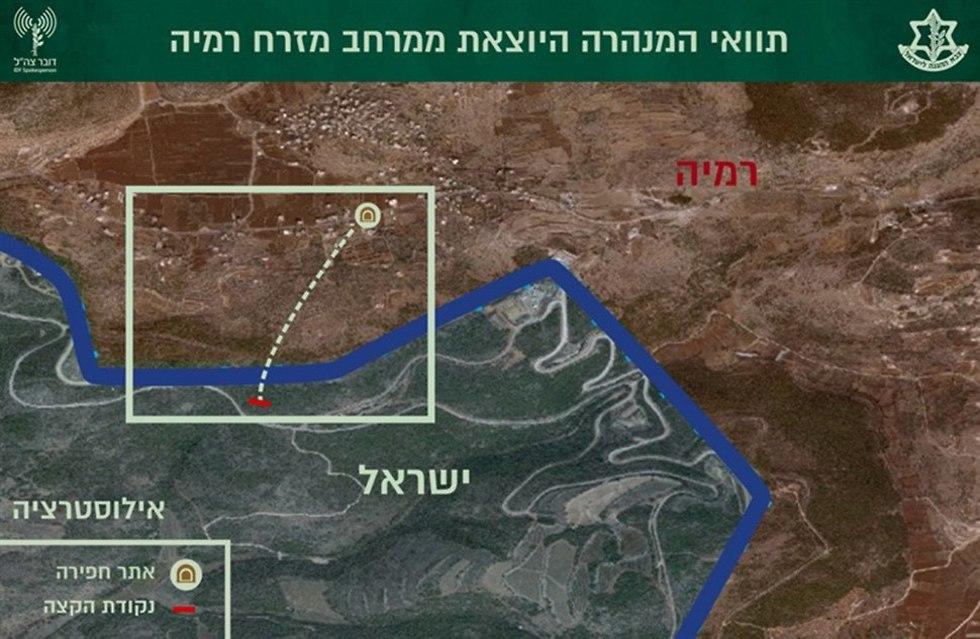 """מבצע """"מגן צפוני"""" הושלם: """"הוסר איום המנהרות מלבנון 90001010990100980639no"""