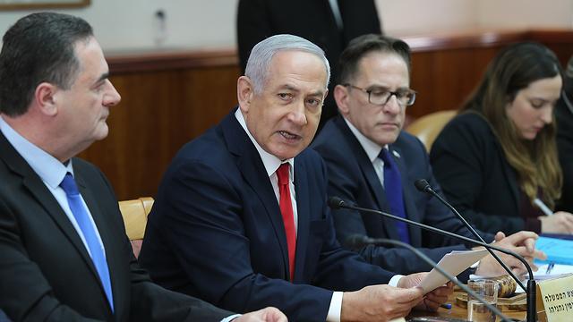 ישיבת ממשלה (צילום: עמית שאבי)