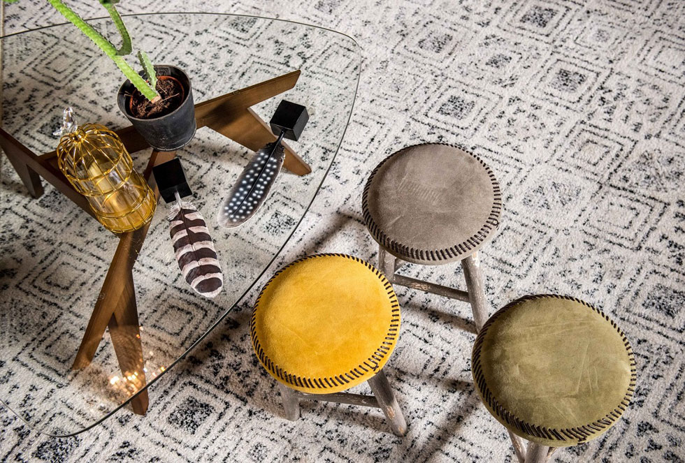שטיחים מקוריים הם נשמה. דגם טיבט, רשת כרמל פלור דיזיין (צילום: סאשה פרילוצקי ל-DVISION)