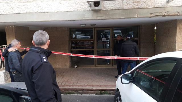 חשד לרצח בירושלים (צילום: דוברות המשטרה)