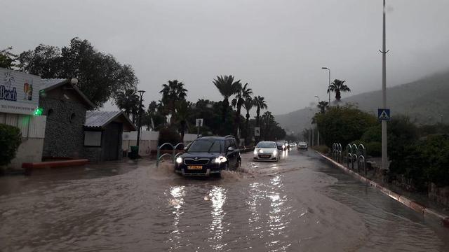 הכניסה הצפונית לטבריה (צילום: ענת זיסוביץ')